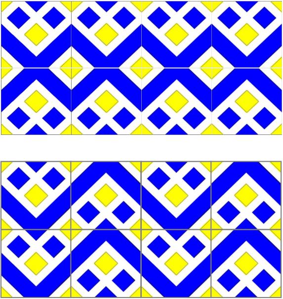 Gi com um simples azulejo - Copia de azulejos ...